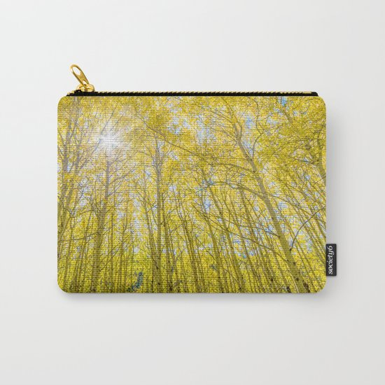 Nevermind The Trees Carry-All Pouch