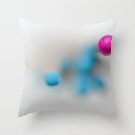 A day at the beach.... Throw Pillow