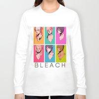 bleach Long Sleeve T-shirts featuring bleach by aspiin