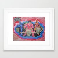 drums Framed Art Prints featuring Drums by Jason Cooper