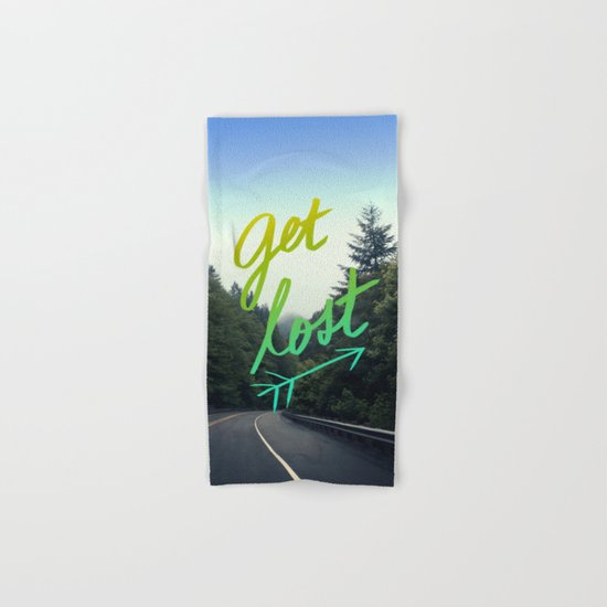 Get Lost II Hand & Bath Towel