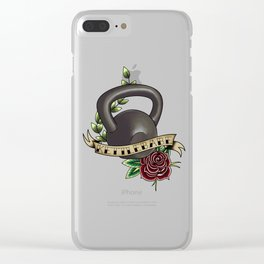 Kettlebabe. Clear iPhone Case