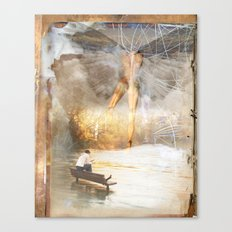 The Sacred and the Mundane Canvas Print