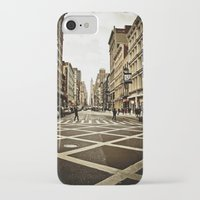 broadway iPhone & iPod Cases featuring Broadway by Randolph Pfaff
