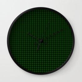 Gunn Tartan Wall Clock