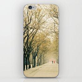 Walk in the park iPhone Skin
