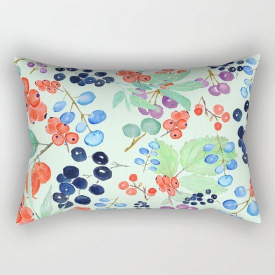 joyful berries Rectangular Pillow