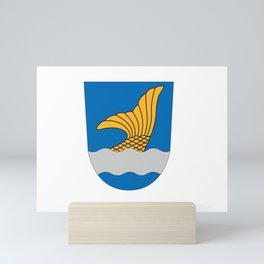 Flag of vantaa Mini Art Print