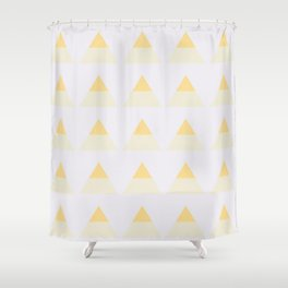 We Found Love - TRIANGLES Shower Curtain