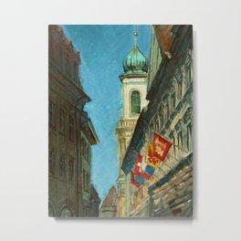 Lucerne Tower Metal Print