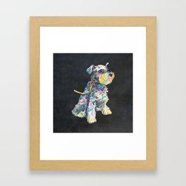 Miniature Schnauzer Framed Art Print