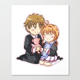 Sakura Card Captor: Clear Card - Love Canvas Print