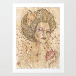Pomegrane Art Print