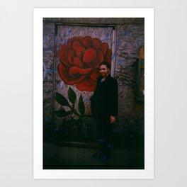 wall flower  Art Print