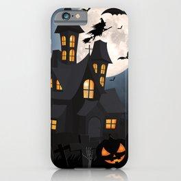 Halloween, House of Horrors, Fun, Creepy Art iPhone Case