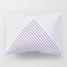 Shades of Purple Abstract geometric pattern Pillow Sham
