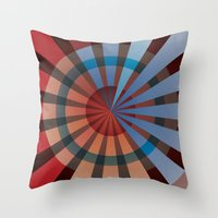 patriotic Throw Pillows featuring Patriotic by Chris Cooch
