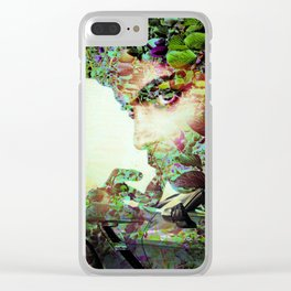 """""""Fall Faces: Vette Series 1"""" Clear iPhone Case"""