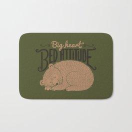 Big Heart Bed Attitude Bath Mat