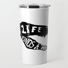 Life Finds a Way 1 Travel Mug