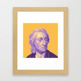 John Locke Framed Art Print