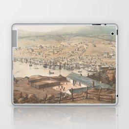 Vintage Pictorial Map of St Johns Newfoundland (1831) Laptop & iPad Skin