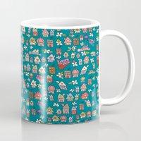 city Mugs featuring City by Catru