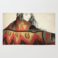 navajo Area & Throw Rugs featuring Navajo by Karen Hofstetter