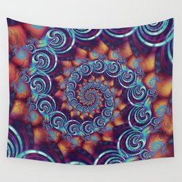 Spirals and Twisters Wall Tapestry