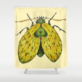 Moth n. 2 (ORIGINAL SOLD). Shower Curtain