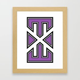 varsity.exe Framed Art Print