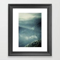 Misty Valley - Lombardia - Italy Framed Art Print