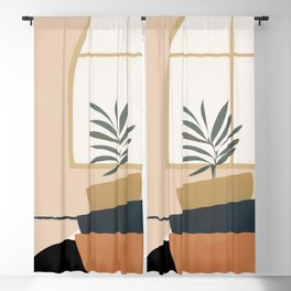 Plant in a Pot Blackout Curtain