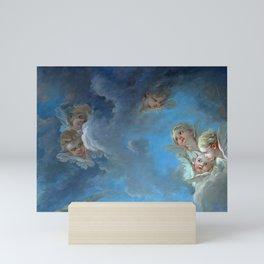 "François Boucher ""St. Peter Invited to Walk on the Water"" (detail) Mini Art Print"
