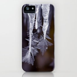 Ice forming on Ice iPhone Case