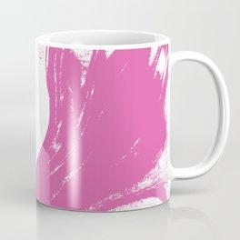 Marble pink 4 Suminagashi watercolor pattern art pisces water wave ocean minimal design Coffee Mug