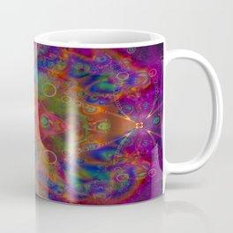 Sacred Geometry Art- Fractal Art- Abstract Art- Helix- Torus- The Eye of Tesla Coffee Mug