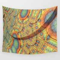 scales Wall Tapestries featuring Scales by Lyle Hatch