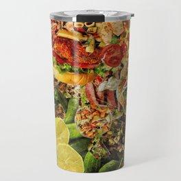 Food Collage 6 Travel Mug