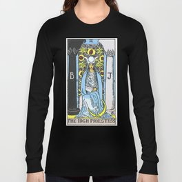 02 - 	The High Priestess Long Sleeve T-shirt