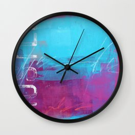 SEIZE THE MOMENT Wall Clock