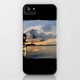 80 - Chinese fishing net, Cochin iPhone Case