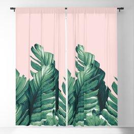 Blush Banana Leaves Dream #3 #tropical #decor #art #society6 Blackout Curtain