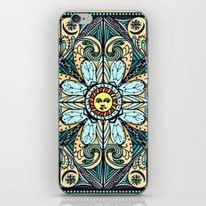 Vintage Style Sun Mandala iPhone & iPod Skin