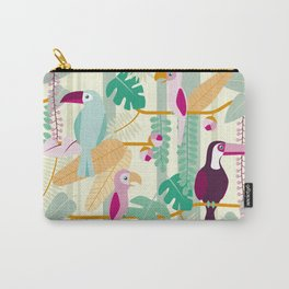 Rainforest birds Carry-All Pouch