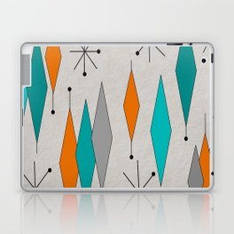 Mid-Century Modern Diamond Pattern Laptop & iPad Skin