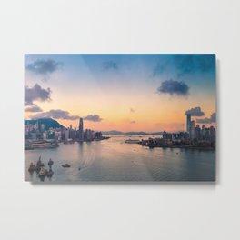 HONG KONG 09 Metal Print