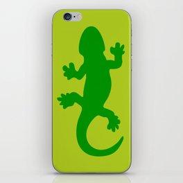 Green Lizard iPhone Skin