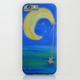 The Moon And Its Star iPhone Case