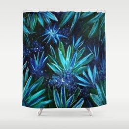Crystal Shard Grotto Shower Curtain